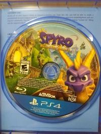 Spyro Reignited Trilogy (version 1.03 disc) Box Art