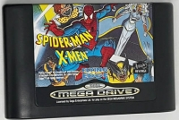 Spider-Man and the X-Men in Arcade's Revenge (Made in Japan) Box Art