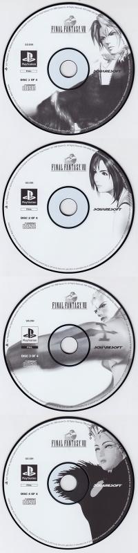 Final Fantasy VIII [ES] Box Art