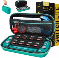 Orzly Switch Lite Carry Case (Turquoise Blue Edition) Box Art