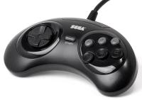 Sega Genesis 6 Button Arcade Pad (MK-1653) Box Art