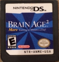 Brain Age 2: More Training in Minutes a Day! Box Art