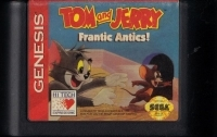 Tom and Jerry: Frantic Antics! (cardboard box) Box Art