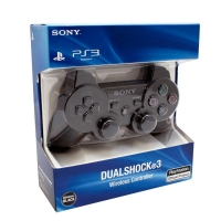 Sony PlayStation 3 DualShock 3 Wireless Controller - Black Box Art