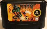 Sega Genesis 32X - Doom Box Art
