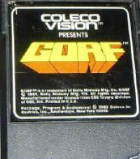 GORF Box Art