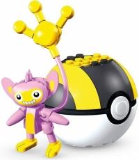 Mega Construx Pokémon Aipom/Capumain (Series 10) Box Art