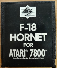 F-18 Hornet Box Art