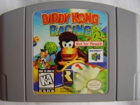 Diddy Kong Racing (Not for Resale) Box Art