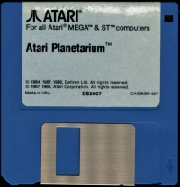 Atari Planetarium Box Art