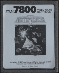 Asteroids Box Art