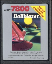 Ballblazer Box Art