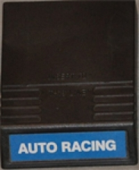 Auto Racing (blue label) Box Art