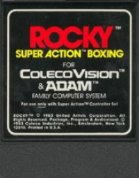 Rocky Super Action Boxing Box Art