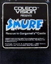 Smurf: Rescue in Gargamel's Castle Box Art