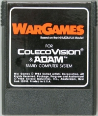 WarGames Box Art