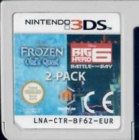 Disney Two Pack - Frozen: Olaf's Quest & Big Hero 6: Battle In The Bay Box Art