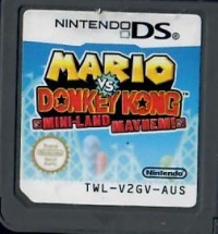 Mario vs. Donkey Kong: Mini-Land Mayhem Box Art