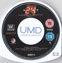 24: Season 1 UMD Collection Box Art