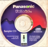Panasonic Sampler CD Box Art