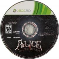 Alice: Madness Returns Box Art