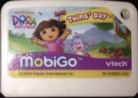 Dora the Explorer: Twins' Day Box Art