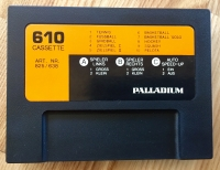 Palladium Tele-Cassette 610 10 Ball-Spiele Box Art