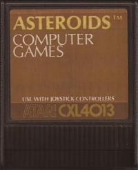 Asteroids Box Art