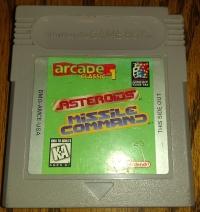 Arcade Classic No. 1: Asteroids / Missile Command Box Art
