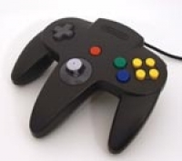 Nintendo 64 Controller - Black Box Art