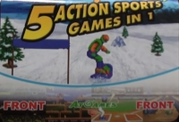 5 Action Sports Games in 1 Box Art