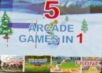 5 Arcade Games in 1 Box Art