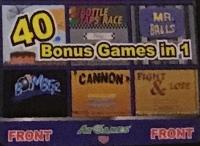 40 Bonus Games in 1 Box Art