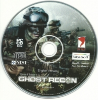 Ghost Recon - MSI bundled release Box Art