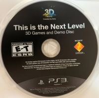 3D: This is the Next Level Box Art