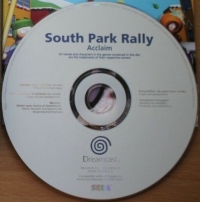 South Park Rally (Not for Resale) Box Art