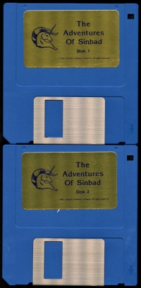 Adventures of Sinbad, The Box Art