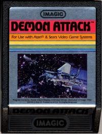 Demon Attack (Picture Label) Box Art