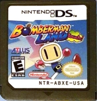 Bomberman Land Touch! Box Art