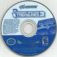 Midway Arcade Treasures 3 Box Art