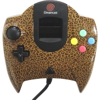 Sega Dream Point Bank Controller (Leopard) Box Art