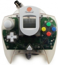 Sega Dreamcast Controller (clear) Box Art