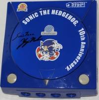 Sega Dreamcast (Sonic the Hedgehog 10th Anniversary) Box Art
