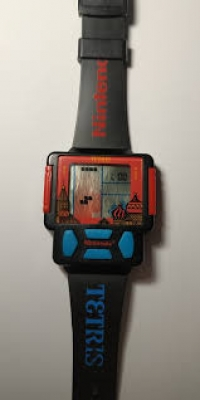 Zeon Tetris Game Watch Box Art