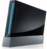 Nintendo Wii (Black) [NA] Box Art