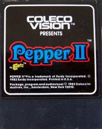 Pepper II Box Art