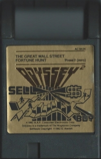 Great Wall Street Fortune Hunt, The Box Art