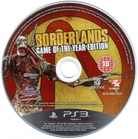 Borderlands - Game of the Year Edition Box Art