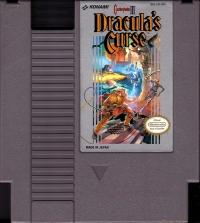 Castlevania III: Dracula's Curse Box Art
