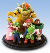 2010 Club Nintendo Platinum Member Reward - Super Mario Character Figurine Box Art